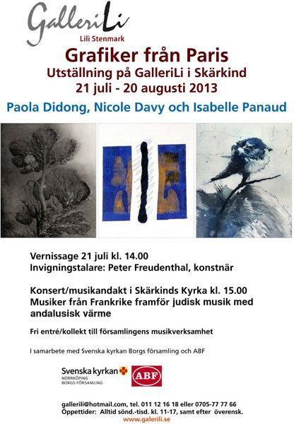 GalleriLi, Skärkind, Suède