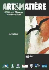 Invitée d'honneur au salon Arts & Matière