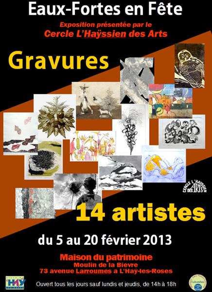 Exposition au Moulin de la Bièvre à l'Haÿ-les-Roses (94)